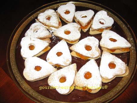 Shortbread Linzer Cookies